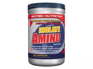 Купить SCITEC NUTRITION Isolate Amino 250caps в Москве, по доступной цене в интернет-магазине Iw-Shop