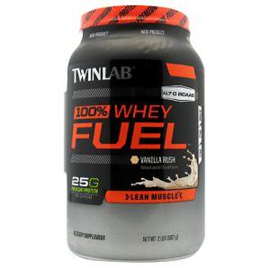 Купить TWINLAB 100% Whey Protein Fuel 907g в Москве, по доступной цене в интернет-магазине Iw-Shop