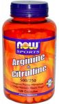 NOW Arginine & Citrulline 120caps