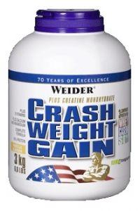 Купить WEIDER Crash Weight Gain 3000g в Москве, по доступной цене в интернет-магазине Iw-Shop