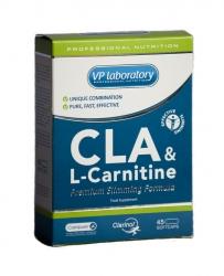 Купить VP LABORATORY CLA+L-Carnitine 45caps в Москве, цена на спортивный энергетик VP LABORATORY CLA+L-Carnitine 45caps в интернет-магазине Iw-Shop