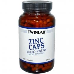 Купить TWINLAB Zinc 50mg 180caps в Москве, цена на спортивный витамин TWINLAB Zinc 50mg 180caps в интернет-магазине Iw-Shop