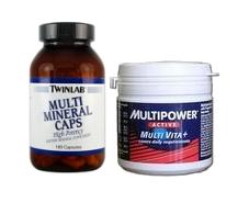 Набор спортивного питания Витамины и минералы - купить в интернет-магазине спортивного питания по выгодной цене