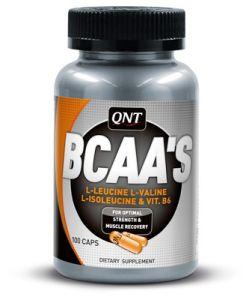 Купить QNT BCAA 100caps в Москве, по доступной цене в интернет-магазине Iw-Shop
