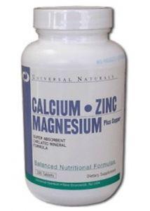 Купить UNIVERSAL Calcium Zinc Magnesium 100tabs в Москве, цена на спортивный витамин UNIVERSAL Calcium Zinc Magnesium 100tabs в интернет-магазине Iw-Shop