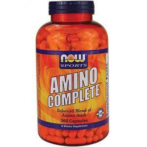 Купить NOW Amino Complete 360caps в Москве, по доступной цене в интернет-магазине Iw-Shop