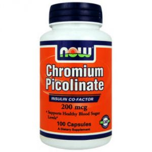 Купить NOW Chromium Picolinate 200mg 100caps в Москве, цена на спортивный энергетик NOW Chromium Picolinate 200mg 100caps в интернет-магазине Iw-Shop