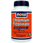 NOW Chromium Picolinate 200mg 100caps