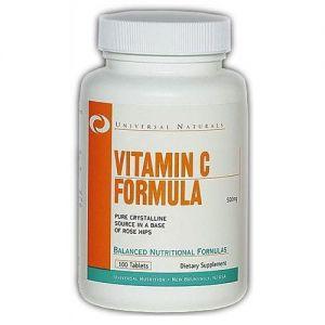 Купить UNIVERSAL Vitamin C 100tabs в Москве, цена на спортивный витамин UNIVERSAL Vitamin C 100tabs в интернет-магазине Iw-Shop
