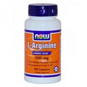 Купить NOW L-Arginine 500mg 100caps в Москве, по доступной цене в интернет-магазине Iw-Shop