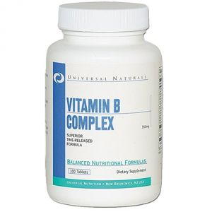 Купить UNIVERSAL Vitamin B-Complex 100tabs в Москве, цена на спортивный витамин UNIVERSAL Vitamin B-Complex 100tabs в интернет-магазине Iw-Shop