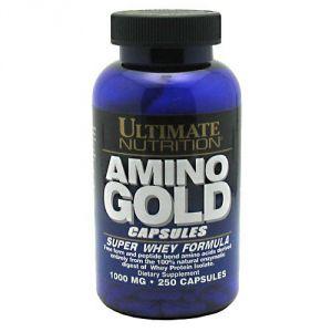 Купить ULTIMATE NUTRITION Amino Gold 250caps в Москве, по доступной цене в интернет-магазине Iw-Shop