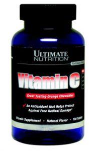 Купить ULTIMATE NUTRITION Vitamin C 120tabs в Москве, цена на спортивный витамин ULTIMATE NUTRITION Vitamin C 120tabs в интернет-магазине Iw-Shop