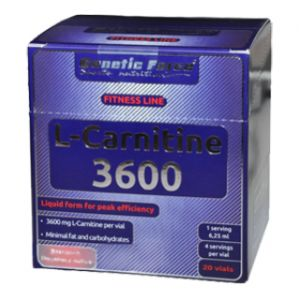 Купить GENETIC FORCE L-Carnitine 3600 20amp в Москве, цена на л-карнитин GENETIC FORCE L-Carnitine 3600 20amp в интернет-магазине Iw-Shop
