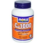 NOW C-1000 with Bioflavonoids 100caps