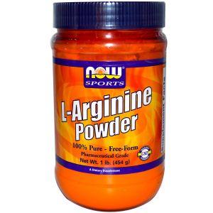 Купить NOW L-Arginine 454g в Москве, по доступной цене в интернет-магазине Iw-Shop