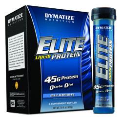 Спортивный напиток DYMATIZE Elite Liquid Protein 112g - купить в интернет-магазине спортивного питания по выгодной цене