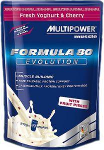 Купить MULTIPOWER Formula 80 Evolution 510g в Москве, по доступной цене в интернет-магазине Iw-Shop