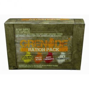Купить GRENADE Ration Pack 120caps в Москве, цена на спортивный витамин GRENADE Ration Pack 120caps в интернет-магазине Iw-Shop