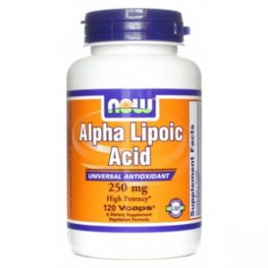 Купить NOW Alpha Lipoic Acid 250mg 120Vcaps в Москве, цена на средство для здоровья NOW Alpha Lipoic Acid 250mg 120Vcaps в интернет-магазине Iw-Shop