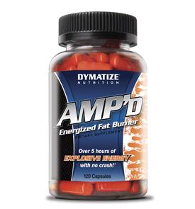 Жиросжигатель DYMATIZE AMP'd Energy pill 120caps - купить в интернет-магазине спортивного питания по выгодной цене