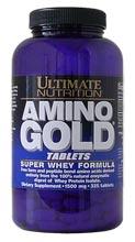 Купить ULTIMATE NUTRITION Amino Gold 1000mg 250tabs в Москве, по доступной цене в интернет-магазине Iw-Shop