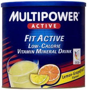 Спортивный напиток MULTIPOWER Fit Active 400g - купить в интернет-магазине спортивного питания по выгодной цене