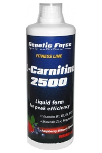 Купить GENETIC FORCE L-Carnitine 2500 1000ml в Москве, цена на L-carnitin GENETIC FORCE L-Carnitine 2500 1000ml в интернет-магазине Iw-Shop
