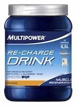 Спортивный напиток MULTIPOWER Re-Charge Drink 630g - купить в интернет-магазине спортивного питания по выгодной цене