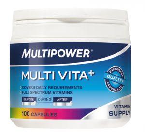 Купить MULTIPOWER Multi Vita+ 100caps в Москве, цена на спортивный витамин MULTIPOWER Multi Vita+ 100caps в интернет-магазине Iw-Shop