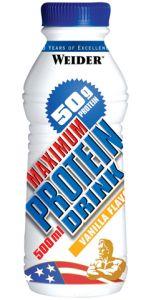 Спортивный напиток WEIDER Maximum Protein Drink 500ml - купить в интернет-магазине спортивного питания по выгодной цене