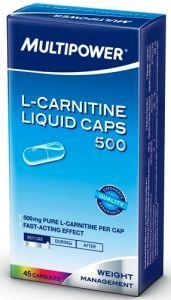 Купить L-Карнитин MULTIPOWER Liquid 45caps в Москве, цена на средство для здоровья L-Карнитин MULTIPOWER Liquid 45caps в интернет-магазине Iw-Shop