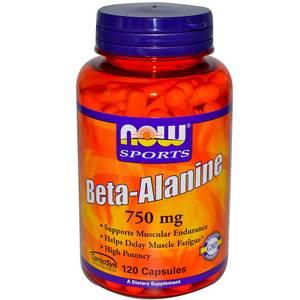 Купить NOW Beta-Alanine 750mg 120caps в Москве, цена на послетренировочный комплекс NOW Beta-Alanine 750mg 120caps в интернет-магазине Iw-Shop