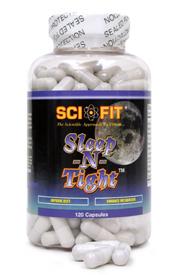 Препарат для улучшения сна SCIFIT Sleep-N-Tight 60caps - купить в интернет-магазине спортивного питания по выгодной цене