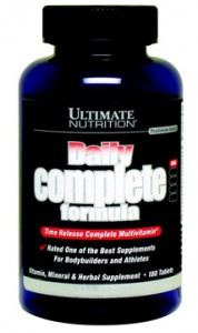 Купить ULTIMATE NUTRITION Daily Complete Formula 180tabs в Москве, цена на спортивный витамин ULTIMATE NUTRITION Daily Complete Formula 180tabs в интернет-магазине Iw-Shop