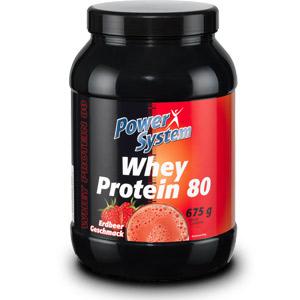 Купить POWER SYSTEM Whey Protein 80 675g в Москве, по доступной цене в интернет-магазине Iw-Shop
