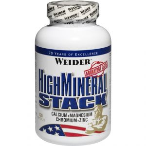 Купить WEIDER High Mineral Stack 120caps в Москве, цена на спортивный витамин WEIDER High Mineral Stack 120caps в интернет-магазине Iw-Shop