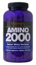 Купить ULTIMATE NUTRITION Super Amino 2000 330tabs в Москве, по доступной цене в интернет-магазине Iw-Shop