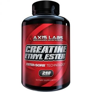 Купить AXIS LABS Creatine Ethyl Ester 240caps в Москве, цена на спортивный витамин AXIS LABS Creatine Ethyl Ester 240caps в интернет-магазине Iw-Shop