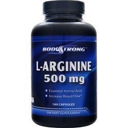 Купить BODYSTRONG L-arginine 500mg 180caps в Москве, по доступной цене в интернет-магазине Iw-Shop