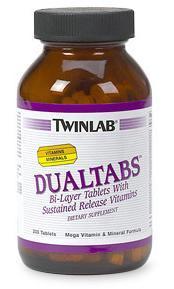 Купить TWINLAB Dualtabs 100 tabs в Москве, цена на спортивный витамин TWINLAB Dualtabs 100 tabs в интернет-магазине Iw-Shop