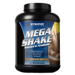 Купить DYMATIZE Mega Shake 2268g в Москве, по доступной цене в интернет-магазине Iw-Shop