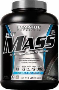 Купить DYMATIZE Elite Mass 2722g в Москве, по доступной цене в интернет-магазине Iw-Shop