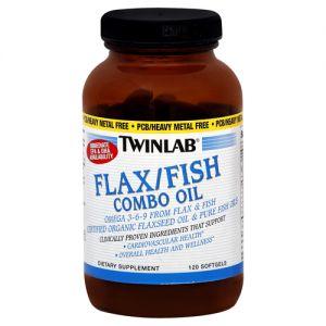 Купить TWINLAB Flax/Fish Combo Oil 120softgels в Москве, цена на средство для здоровья TWINLAB Flax/Fish Combo Oil 120softgels в интернет-магазине Iw-Shop