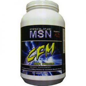 Купить MSN CFM Whey Isolate 908g в Москве, по доступной цене в интернет-магазине Iw-Shop