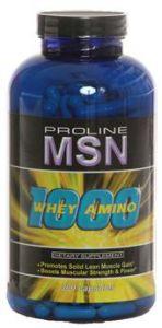 Купить MSN Whey Amino 1000 300caps в Москве, по доступной цене в интернет-магазине Iw-Shop