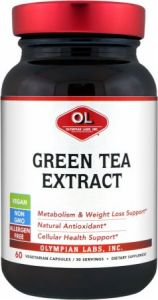 Купить Olympian Labs Green Tea Extract 60Vcaps в Москве, цена на спортивный энергетик Olympian Labs Green Tea Extract 60Vcaps в интернет-магазине Iw-Shop