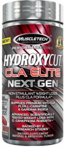 MUSCLETECH Hydroxycut CLA Elite Next Gen 100softgels ― Cпортивное питание от IW-shop