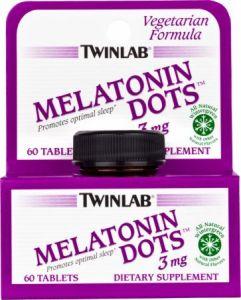 Препарат для улучшения сна TWINLAB Melatonin Dots 60tabs - купить в интернет-магазине спортивного питания по выгодной цене