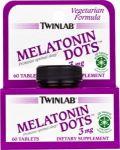 TWINLAB Melatonin Dots 60tabs